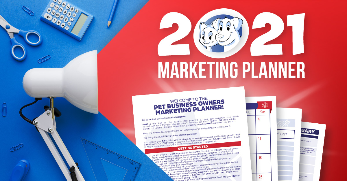 Marketing Planner 2021