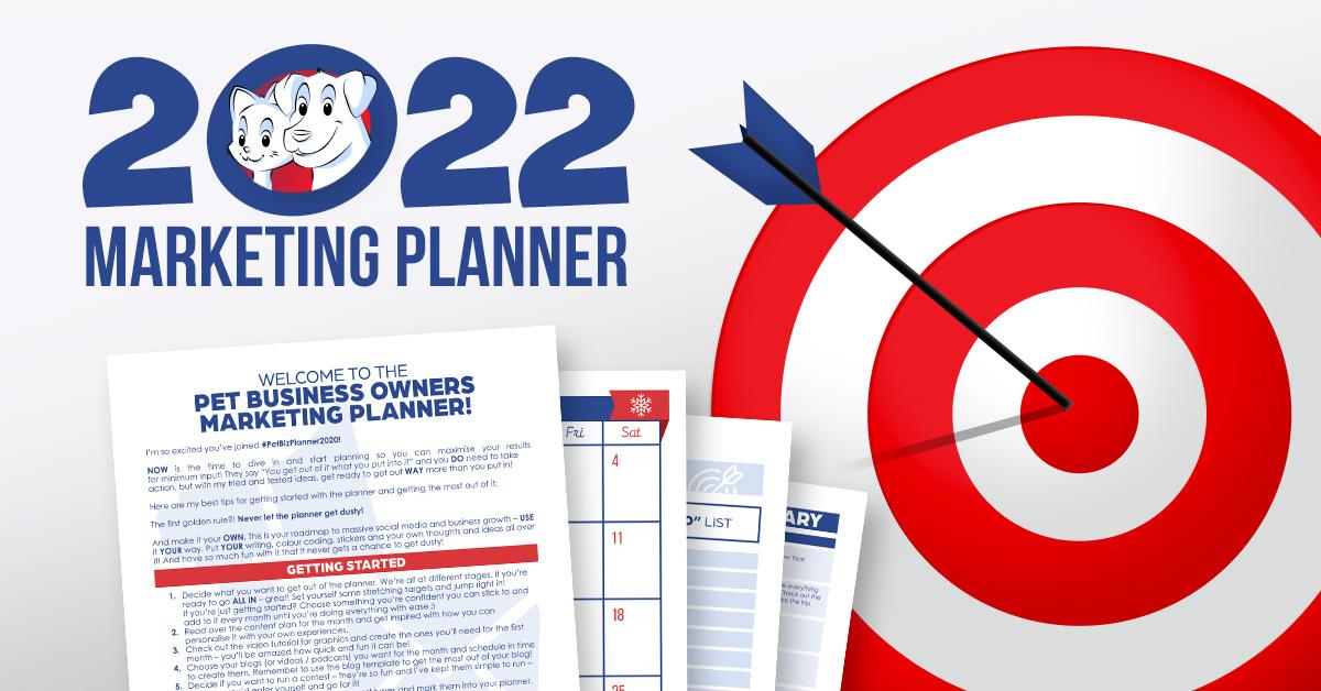 2022 Marketing Planner